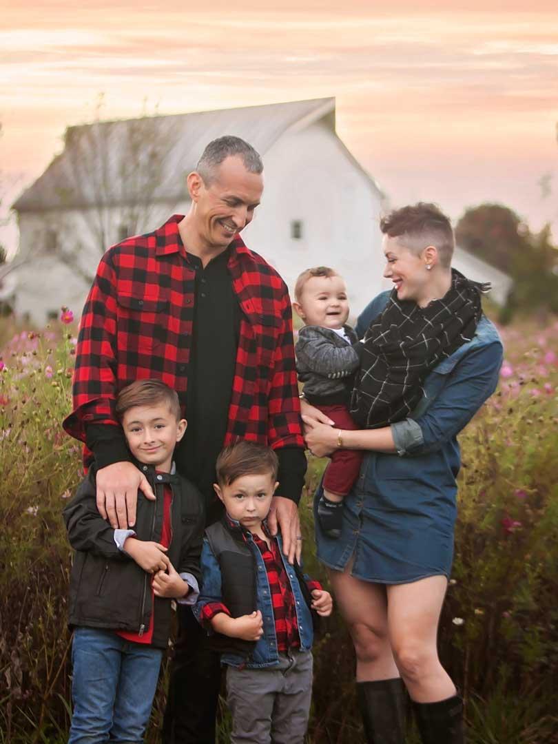 Family Photographer in Hilliard Ohio